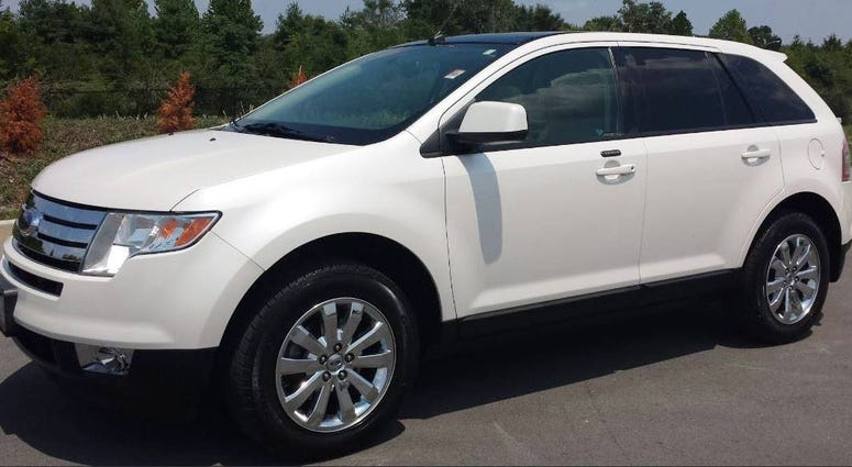 White Ford Edge