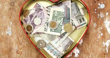 Donation collection, international currency