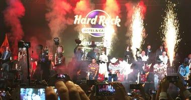 The Hard Rock Hotel Casino in Atlantic City