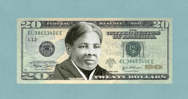Harriet Tubman on 20 Dollar Bill