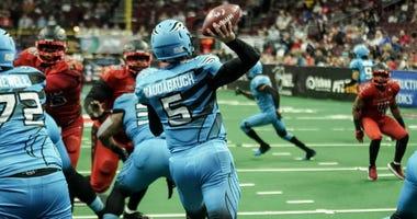 Philadelphia Soul QB Dan Raudabaugh has 20 touchdown passes this season.
