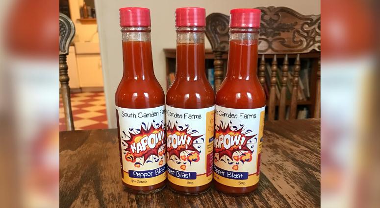 Kapow! hot sauce