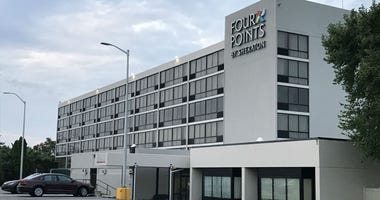 Philadelphia Police are investigating a shooting at the Four Points by Sheraton on Roosevelt Boulevard in Northeast Philadelphia.