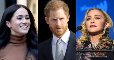 Meghan Markle, Prince Harry and Madonna