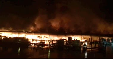 Alabama Boat Fire