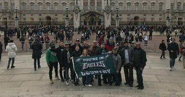 Eagles fans in London.