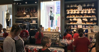 Independence Visitors Center gift shop