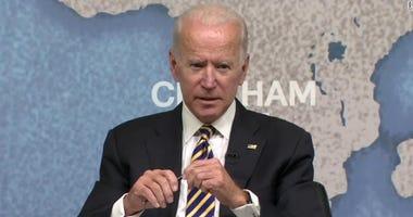 Biden not ruling out 2020 presidential run yet