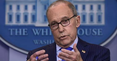 Senior White House economic adviser Larry Kudlow