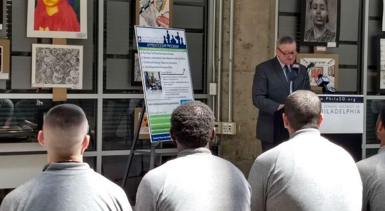 Mayor Jim Kenney is a full supporter of the School District of Philadelphia maintenance apprenticeship program.