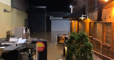 Manayunk Brewing Company is one of the businesses effected by Tropical Storm Isaias flooding.