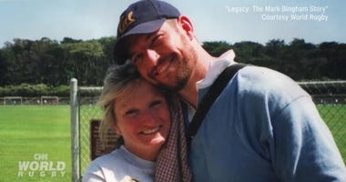 Mark Bingham and Alice Hoagland