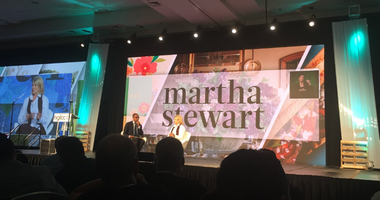 Entrepreneurs from all over the world came to Philadelphia for the National Gay and Lesbian Chamber of Commerce (NGLCC) Business and Leadership Conference Thursday, where they honored a long-time supporter: Martha Stewart.