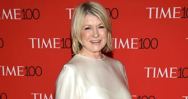 In this April 24, 2018, file photo, Martha Stewart attends the Time 100 Gala celebrating the 100 most influential people in the world in New York.