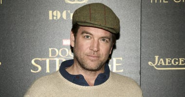 "In this Nov. 1, 2016 file photo, Michael Weatherly attends a special screening of ""Doctor Strange"" at AMC Empire 25 in New York."