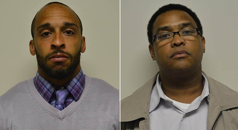 From left: Alfred Gregory Jr. and Darrin Collins