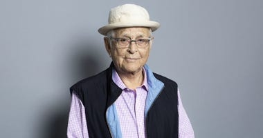 This July 29, 2018 file photo shows executive producer Norman Lear at the Television Critics Association Summer Press Tour in Beverly Hills, Calif.