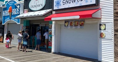 Businesses on the Ocean City Boardwalk
