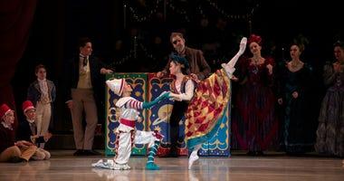 "The Pennsylvania Ballet's annual holiday performance of ""The Nutcracker"""