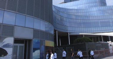 This Monday, June 18, 2018, photo, shows the exterior of the soon-to-open Ocean Resort Casino in Atlantic City, N.J.