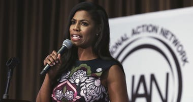 """Omarosa Manigault Newman has a memoir coming that her publisher calls """"explosive"""" and """"jaw-dropping."""""""