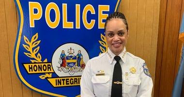 Philadelphia Police Commissioner Danielle Outlaw.