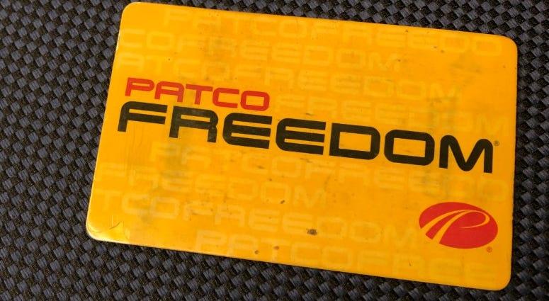 PATCO Freedom fare card