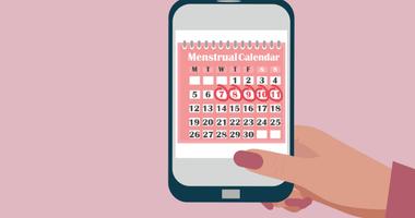 Menstrual calendar