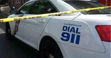 Philadelphia police car