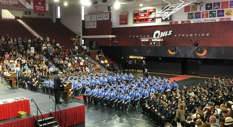 99 recruits in Philadelphia Police Academy Class 385