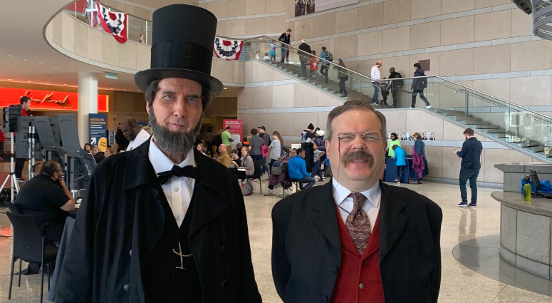 Presidents Day celebrations at National Constitution Center