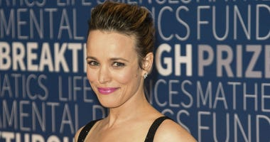 Rachel McAdams attends the 7th Annual Breakthrough Prize Ceremony at NASA Ames Research Center on November 4, 2018 in Mountain View, California.