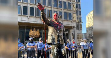 Frank Rizzo statue vandalized