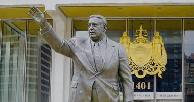 Statue of Frank Rizzo