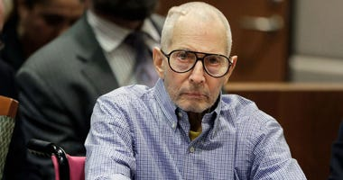 In this Dec. 21, 2016 file photo, Robert Durst sits in a courtroom in Los Angeles.