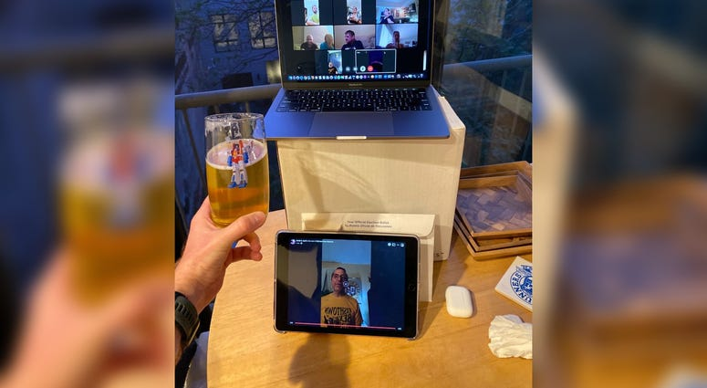The Fishtown Beer Runners are using virtual meetups to raise money for the bars they would normally visit after runs.