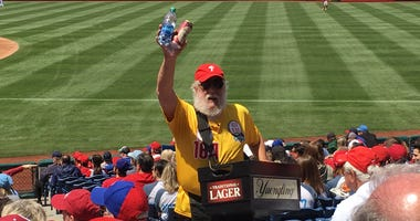 Phillies Beer Man