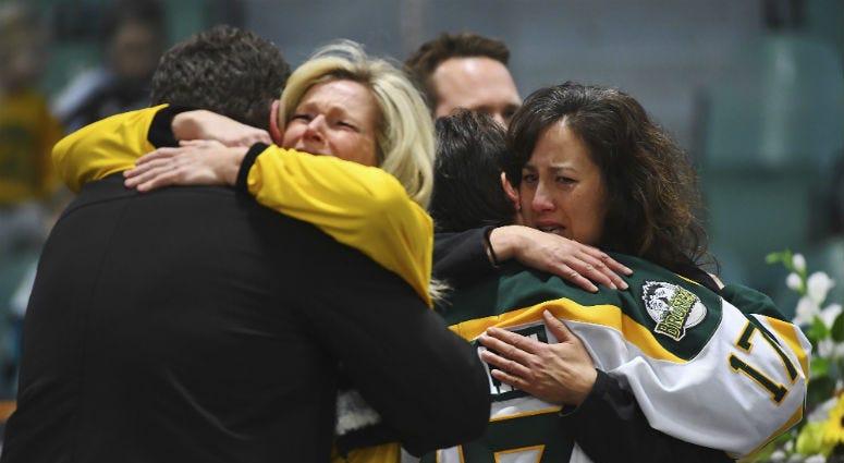 Canada Hockey Team Bus Crash