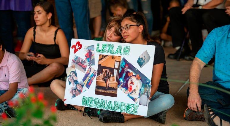 Vigil for Odessa, Texas shooting