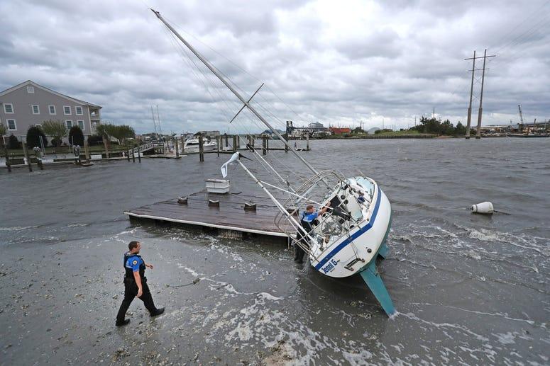 Hurricane Dorian passed the North Carolina