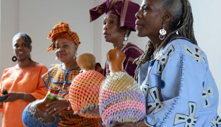 Celebrating Africa and the Diaspora during CultureFest.