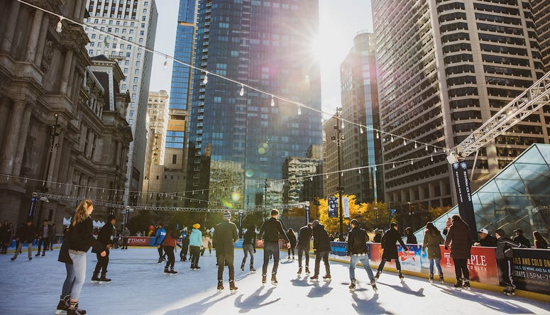 Center City District 2018 Ice Rink Opening