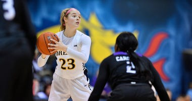 Drexel senior forward Bailey Greenberg
