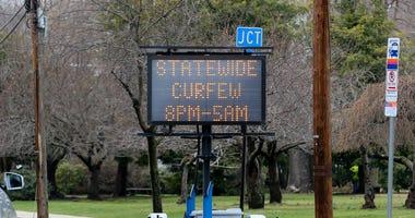 New Jersey coronavirus curfew