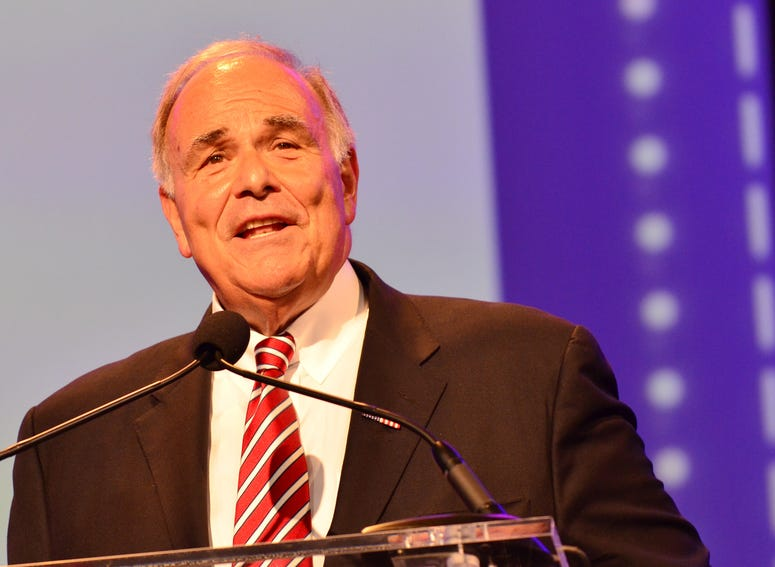 Former Governor of Pennsylvania Ed Rendell speaks onstage at the Pennsylvania Conference For Women 2013.