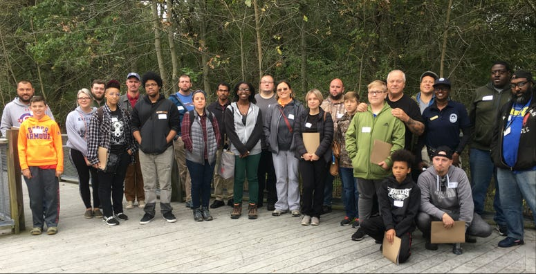 John Heinz National Wildlife Refuge hunters