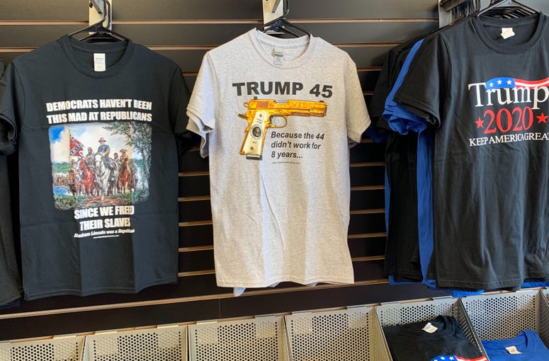 Business has been so good for Michael Domanico that, earlier this week, he opened The Trump Store in Bensalem, where he sells an array of Trump-themed Tchotchkes.