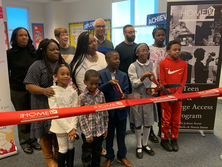 Philadelphia nonprofit Project HOME opened a new educational lab in North Philadelphia.