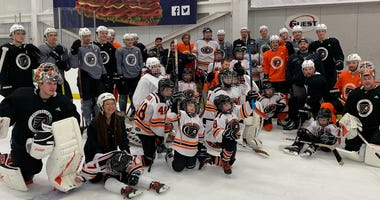 Flyers Youth Special Hockey team