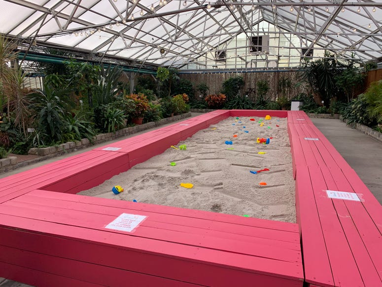 Installation at the Fairmount Park Horticultural Center.